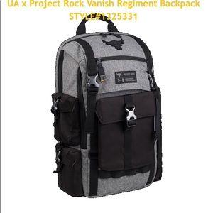 UAxProject Rock Bag Gray UA Regiment Backpack